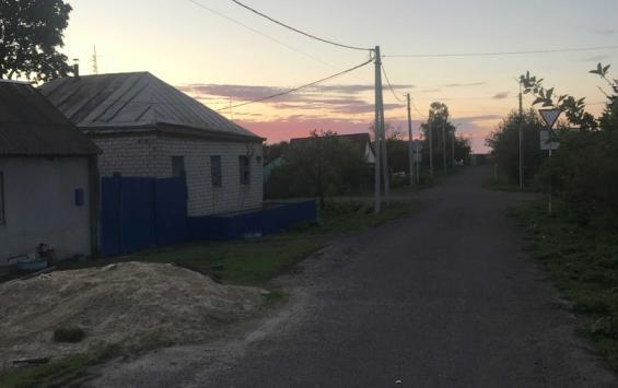 В Мантуровском районе обратили внимание на неосвещенные улицы