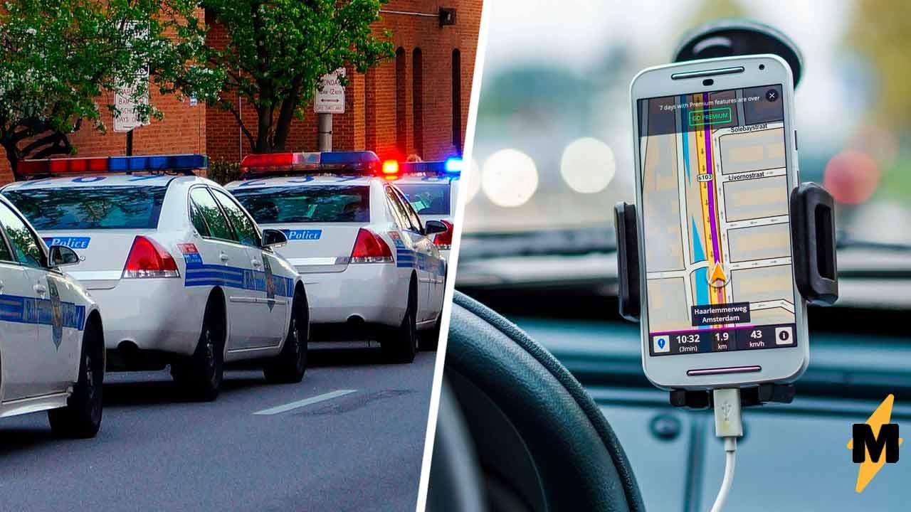 Полиция гадала, почему упала преступность, пока не глянули под свои авто. Копов обвели трюком Тома и Джерри