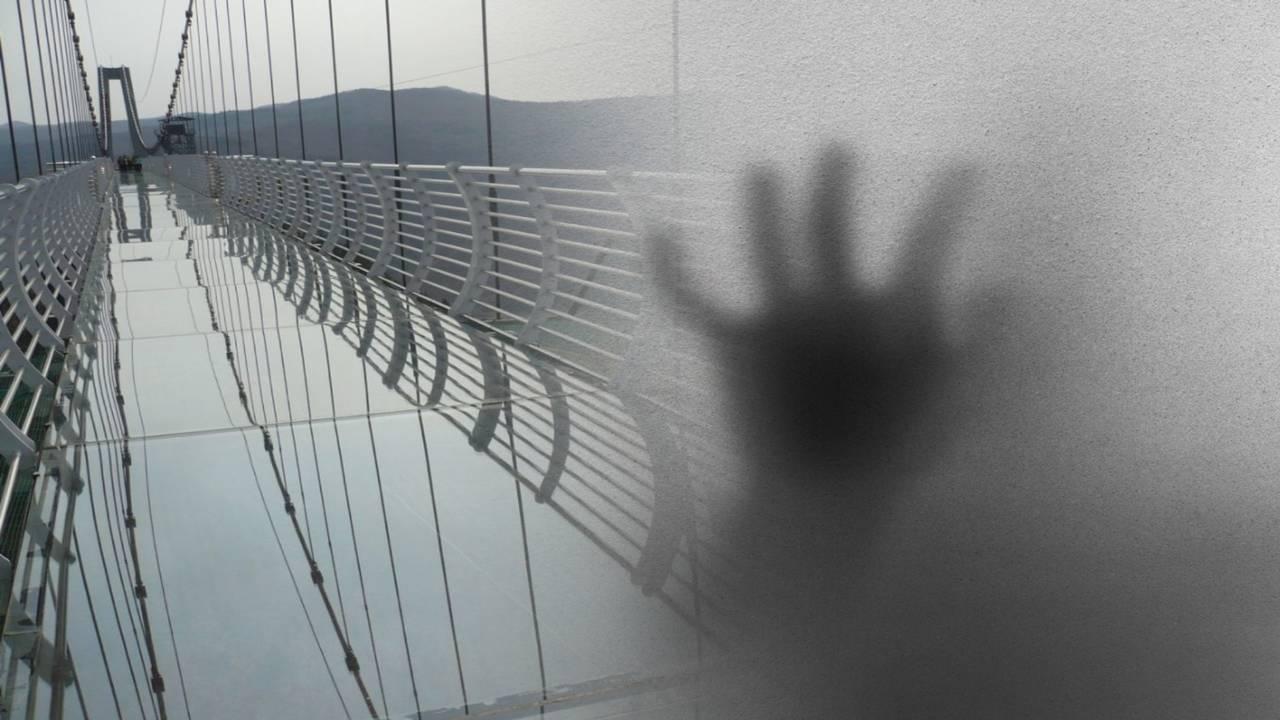 Турист гулял по стеклянному мосту и понял — ноги проваливаются. Осторожно, новая фобия через три, две, одну…