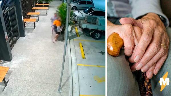 Вор выхватил сумку у старушки, но сделал это без уважения. В ответ она отбила у него достоинство и честь