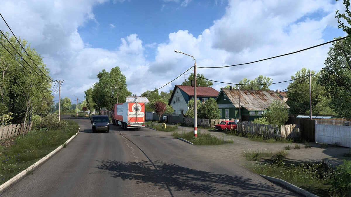 Разрабы Euro Truck Simulator 2 показали карты «Сердце России». А иностранцы шутят: без взяток и ям не обойтись