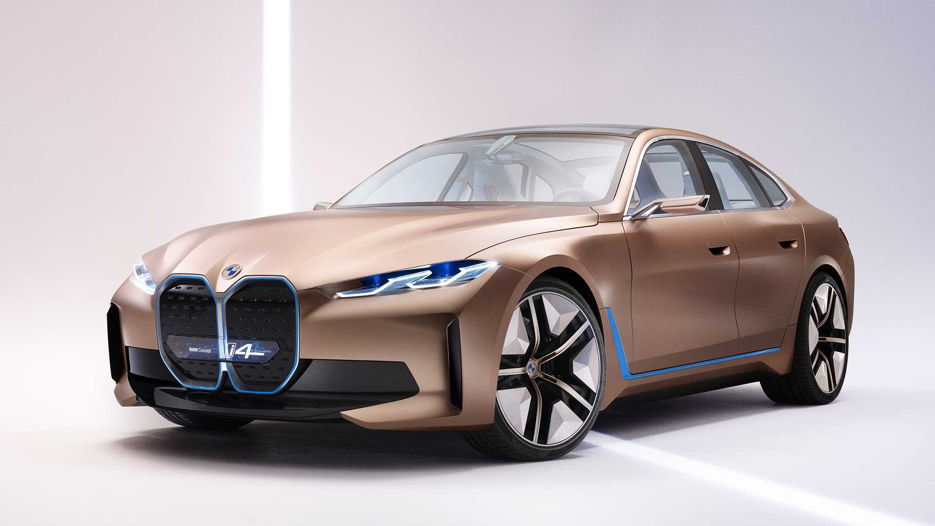 Седан BMW i4 выйдет на рынок в двух мощных версиях