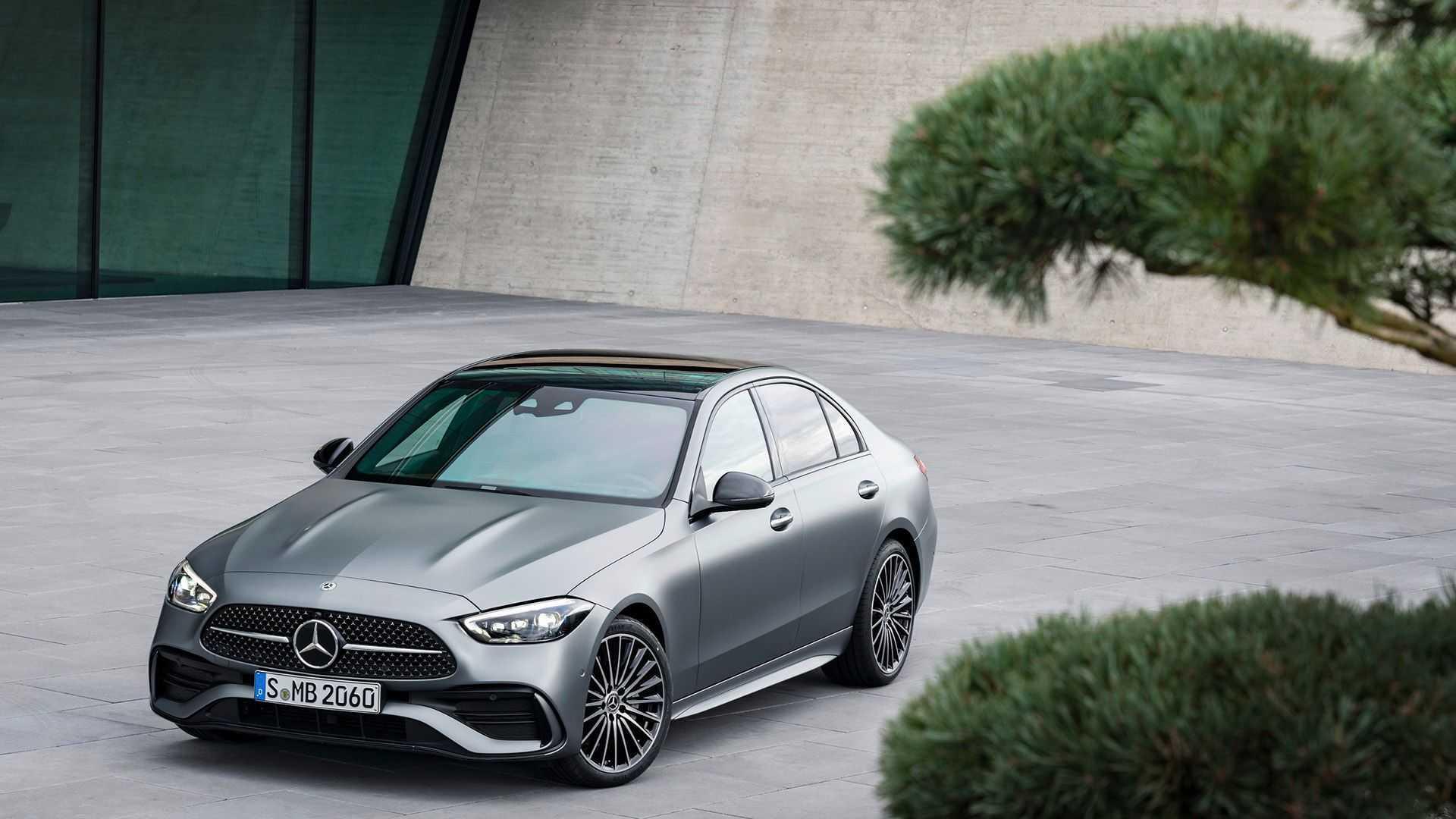 Mercedes-Benz построит электрический С-Class на новой платформе