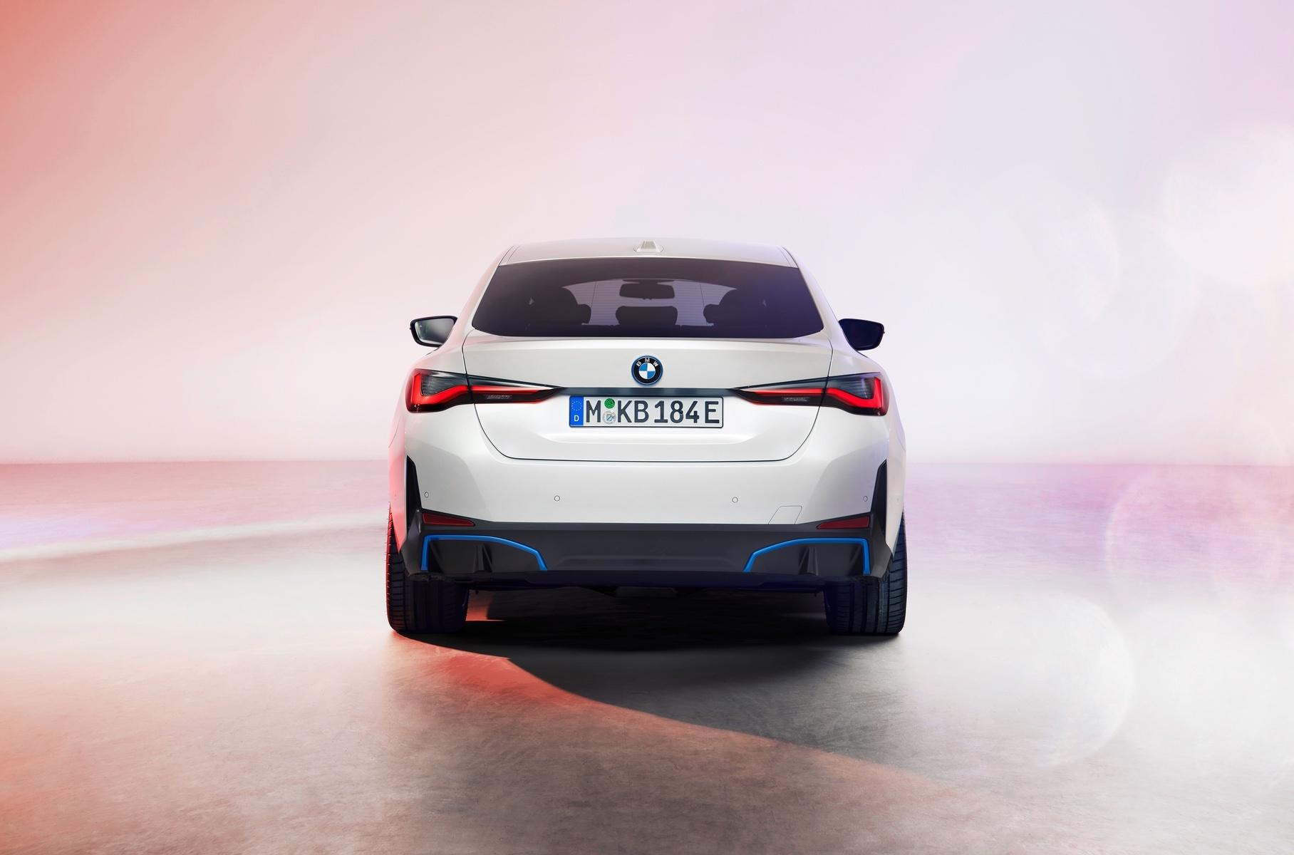 BMW раскрыла внешность электрического лифтбека i4