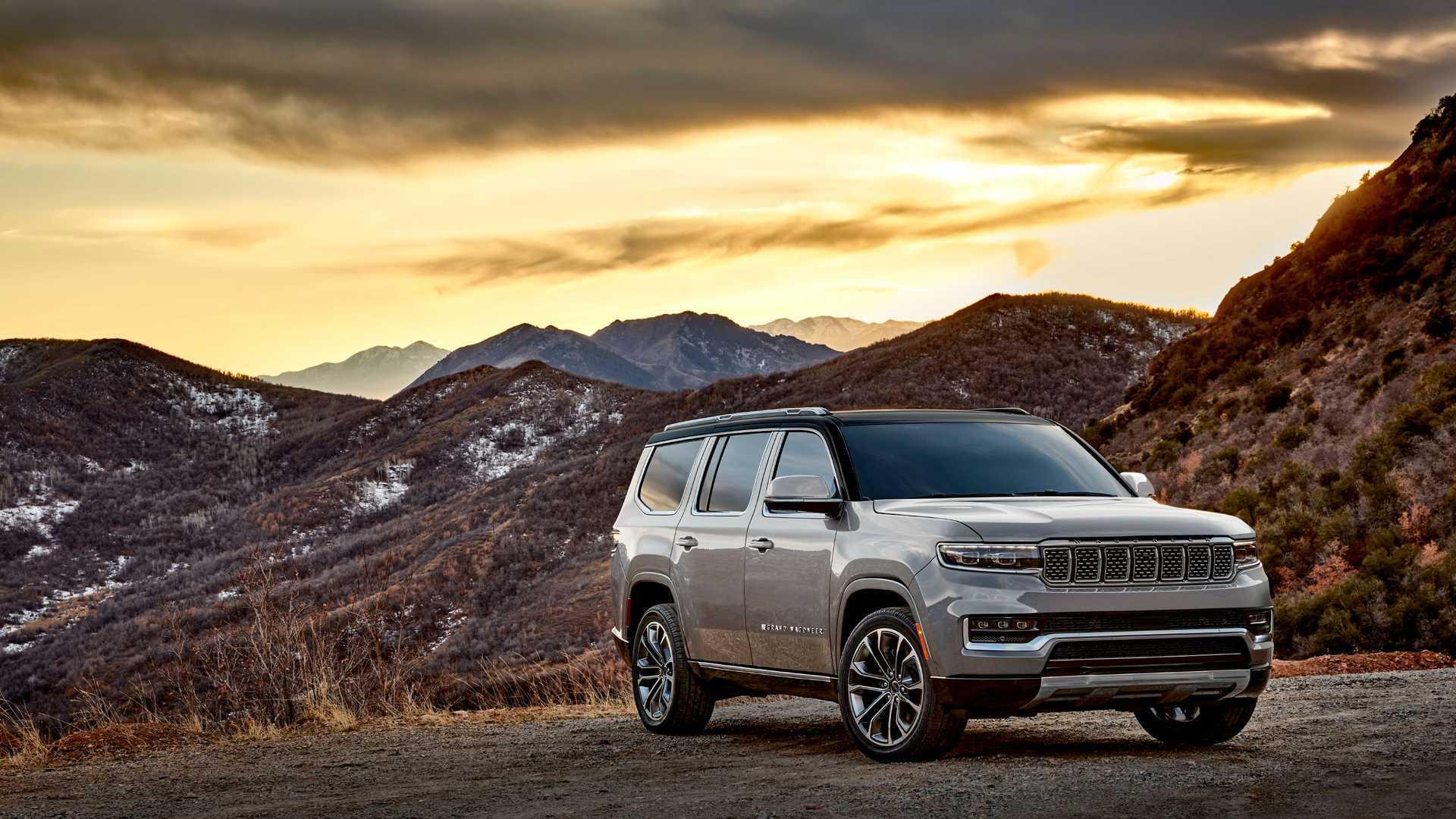 Jeep объяснил, почему у внедорожников Wagoneer нет фирменного значка