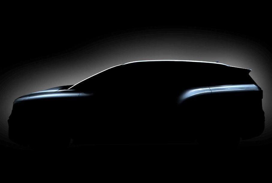 Volkswagen показал новое изображение трехрядного электрического кроссовера ID.6
