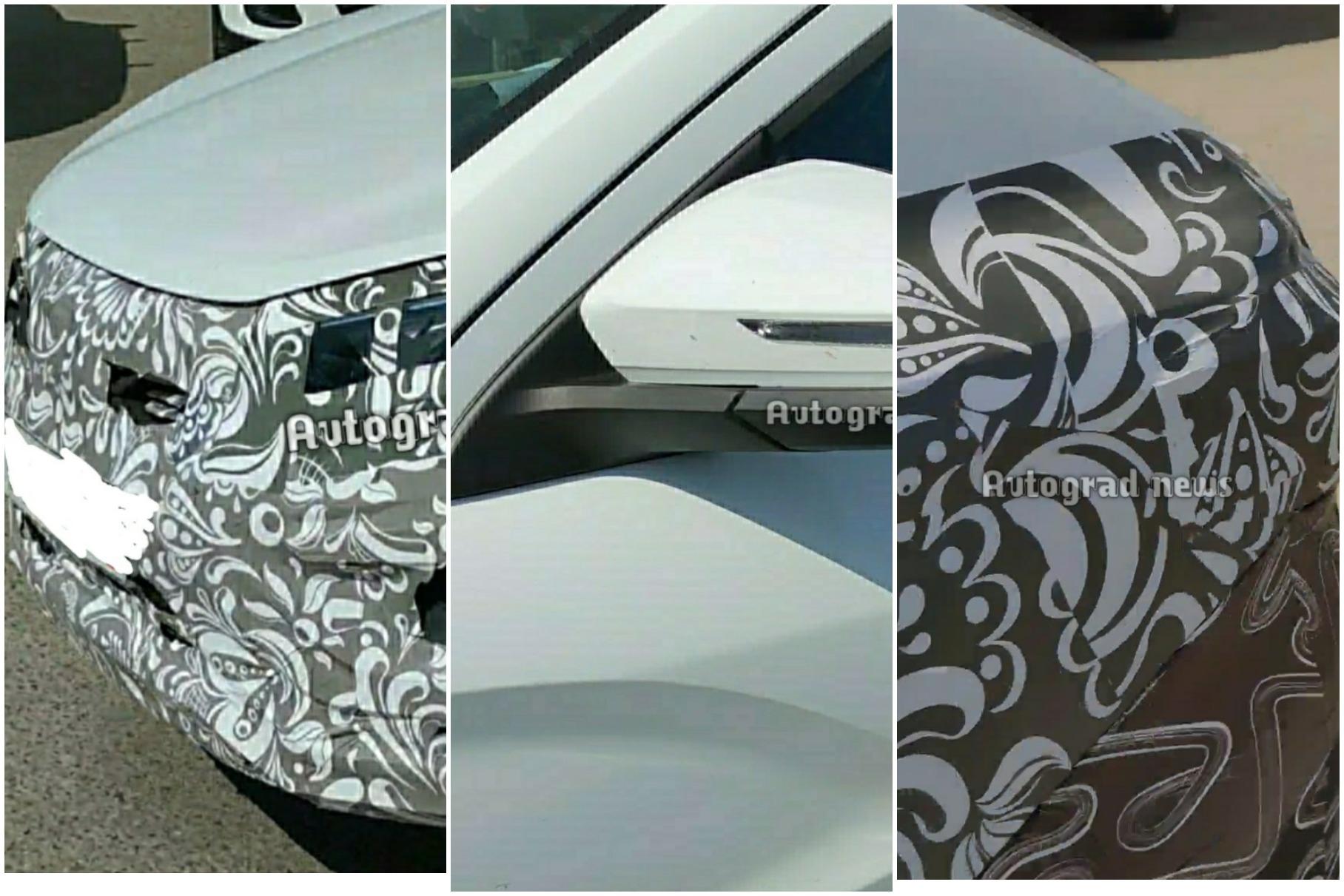 Появились новые фотографии рестайлинговой Lada Vesta