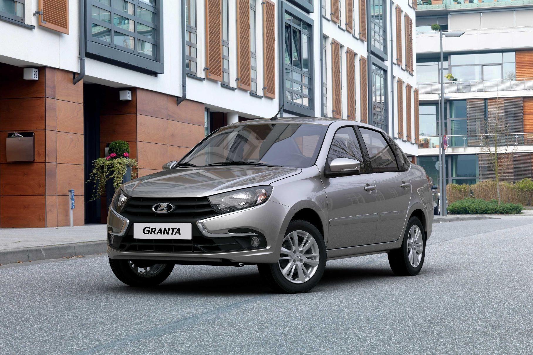 Стартовало производство Lada Granta с новым мотором