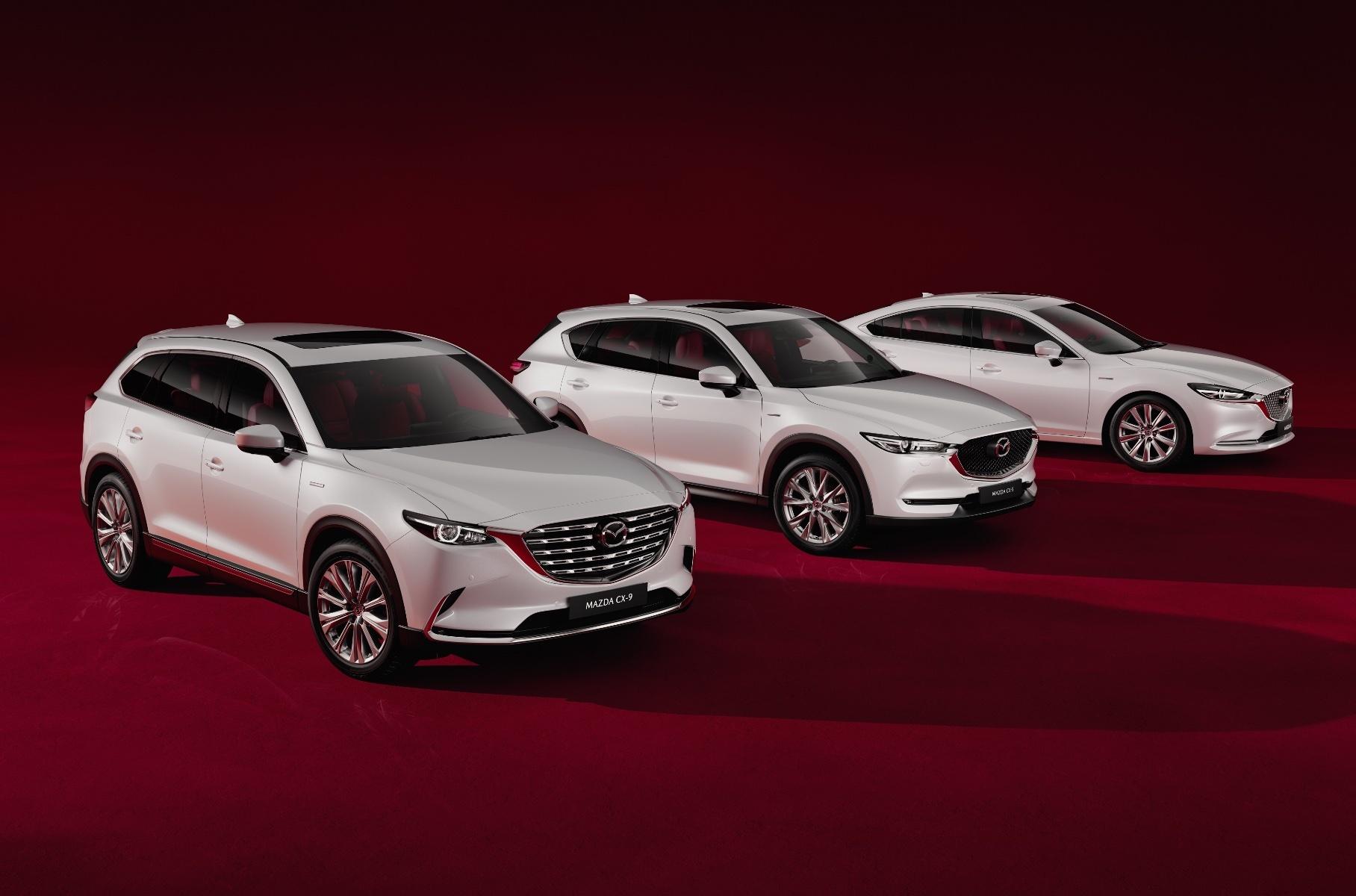 Российские Mazda получили юбилейную версию в честь 100-летия марки