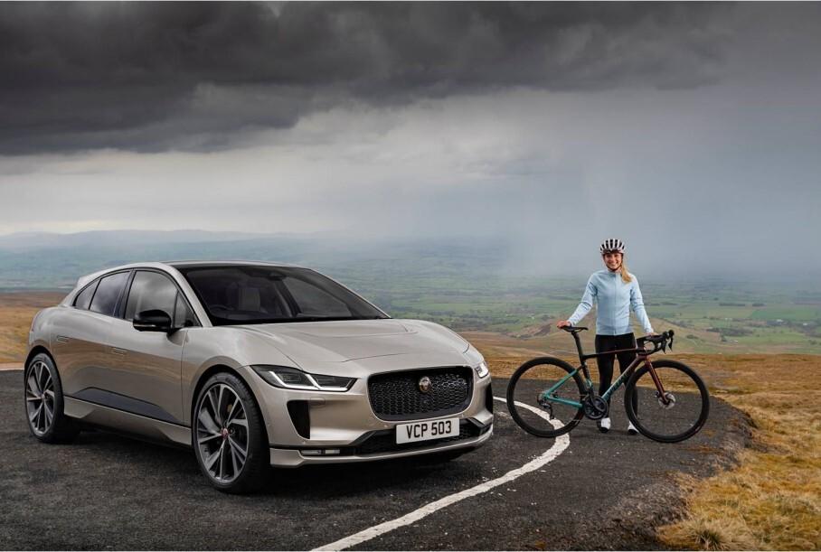Электрический Jaguar I-Pace проехал по самой высокогорной дороге Великобритании