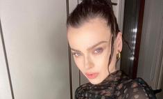 Елена Темникова честно показала следы от годами мучившей ее тяжелой формы акне