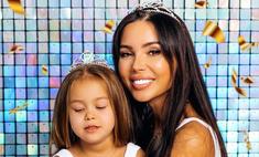 «Одна свечка на двоих»: Оксана Самойлова отмечает день рождения в один день с дочкой