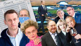 «Экстремисты» против коррупции: от детей Чайки до капусты Золотова, от кроссовок Медведева до «дворца Путина»