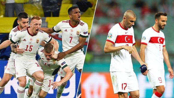 Венгерские богатыри и турецкие неудачники. Кто и почему вылетел с Евро?