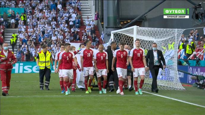 Кристиан Эриксен потерял сознание в ходе матча в Копенгагене. Хроника событий