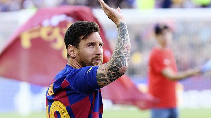 Источник: Месси договорился о продлении контракта с «Барселоной»