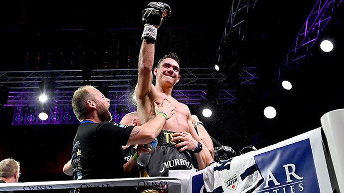 Тим Цзю победил Хогана и защитил пояс чемпиона WBO Global