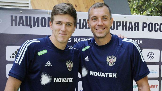 Соболев рассказал, готов ли он бить пенальти в сборной России вместо Дзюбы