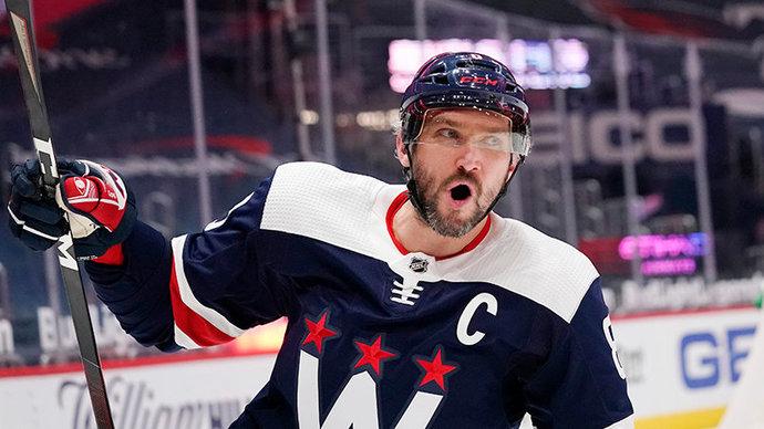 Овечкин счастлив выйти на чистое 6-е место в списке лучших снайперов в истории НХЛ