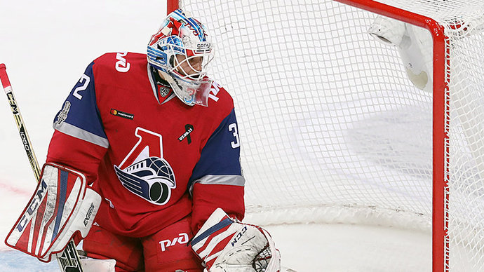 «Эдмонтон» подписал контракт с голкипером «Локомотива» Коноваловым