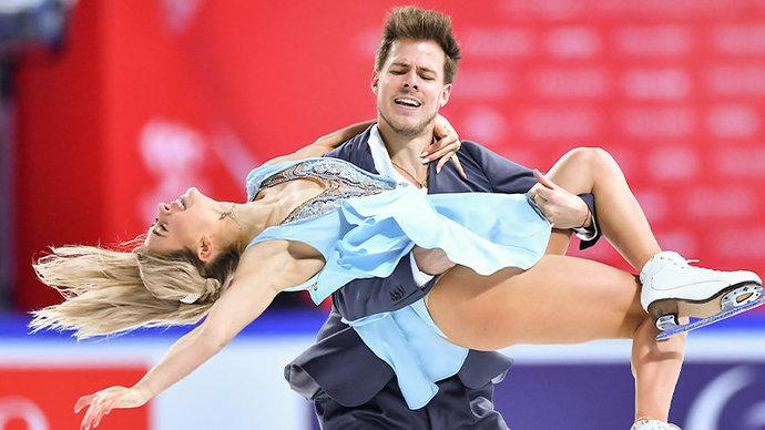 Синицина и Кацалапов выиграли ритм-танец на командном чемпионате мира