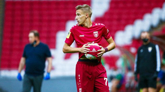 Илья Самошников: «Моя максимальная скорость — 9,61 метра в секунду. Но важен и выбор позиции, и чтение игры»