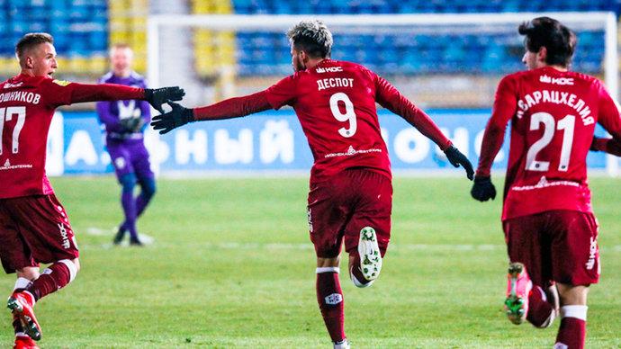 «Рубин» штампует самые красивые голы Тинькофф РПЛ. В 25-м туре лучшим стал мяч Дарко Йевтича!