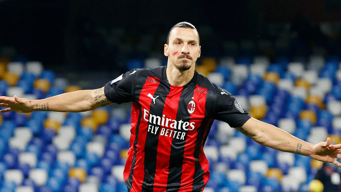 СМИ: «Милан» и Ибрагимович договорились о продлении контракта