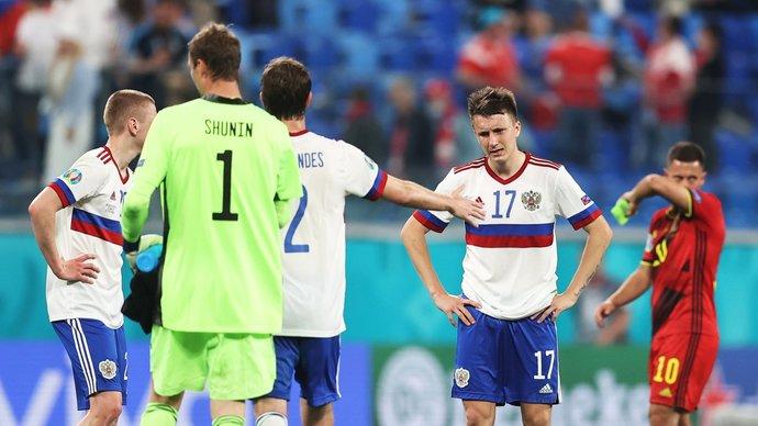 Олег Терехин: «Наша игра с Бельгией — это чемпионат России. Стоим и смотрим»
