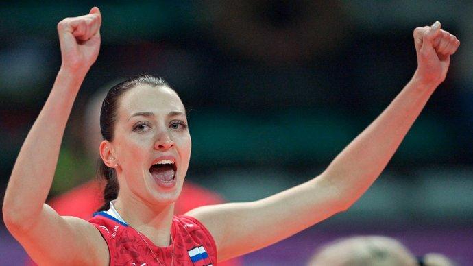 Российские волейболистки нанесли поражение Сербии в Лиге наций