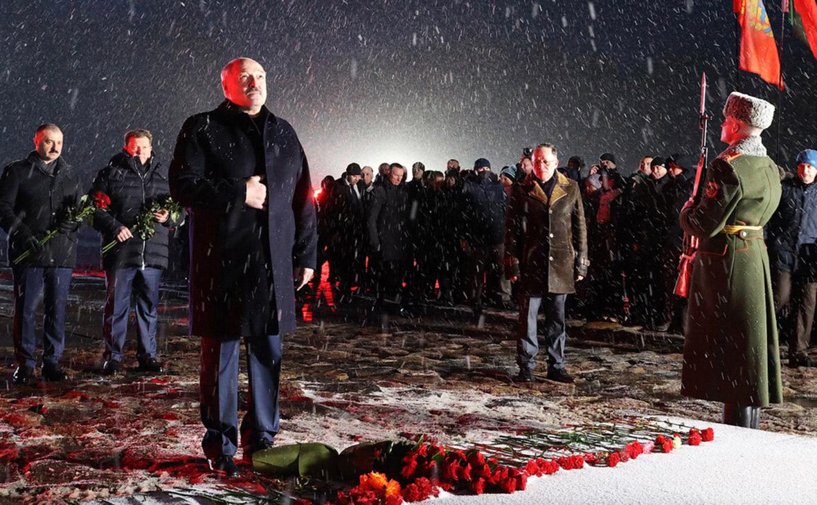 Лукашенко заявил о генетическом иммунитете белорусов к нацизму