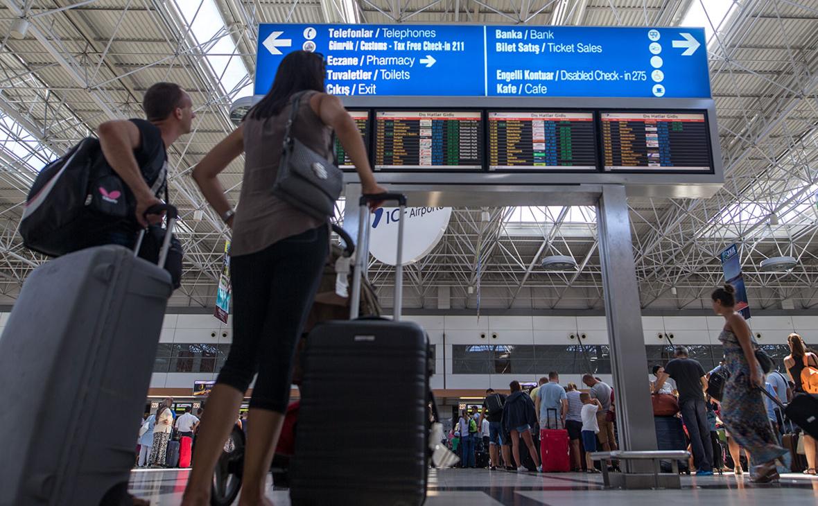 Росавиация назвала города, из которых разрешены полеты в Турцию