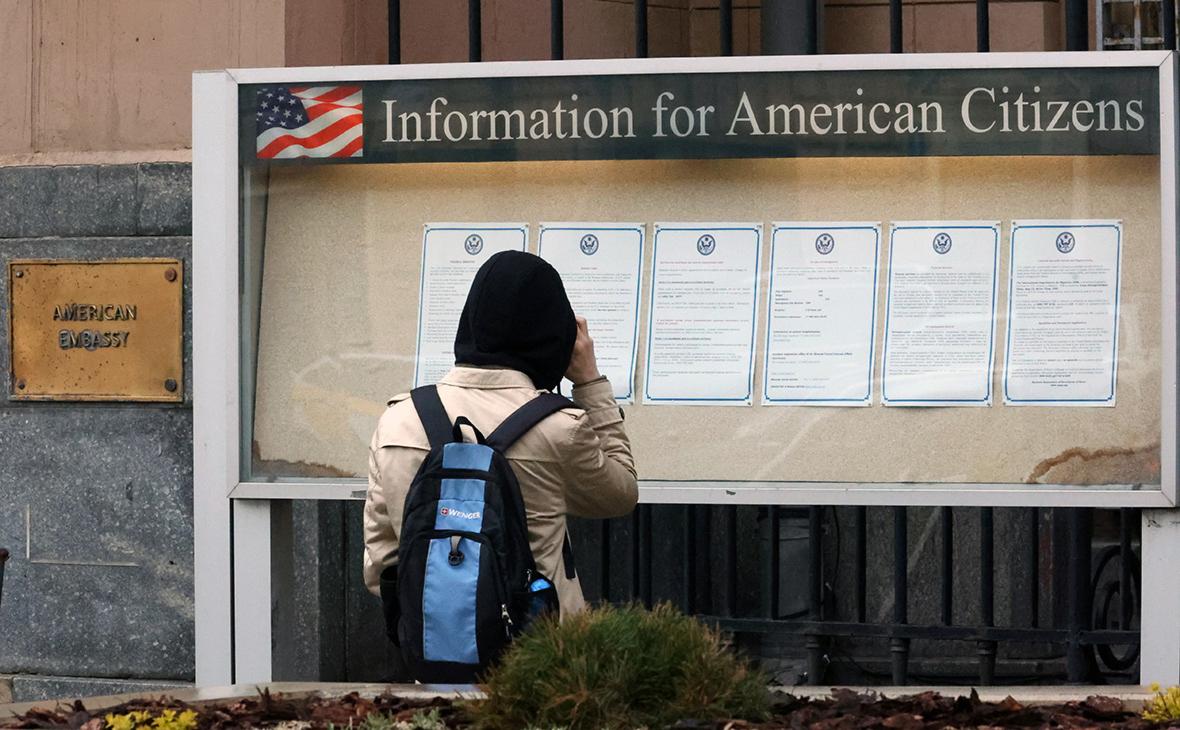 МИД назвал сокращение выдачи виз посольством США американским решением