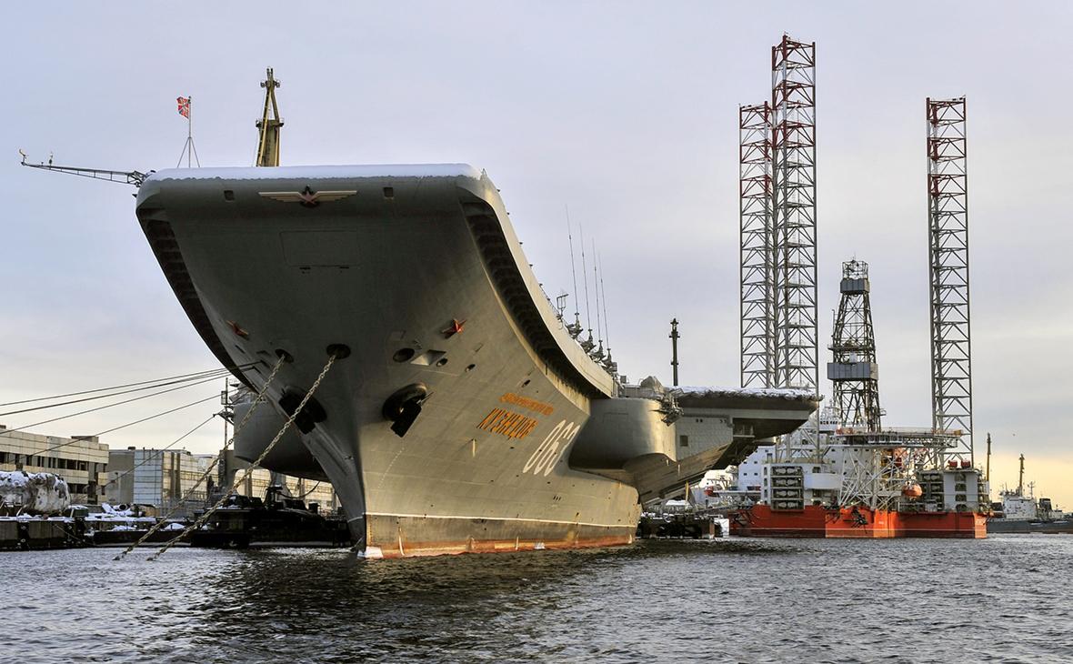 Директора завода обвинили в хищении при ремонте «Адмирала Кузнецова»