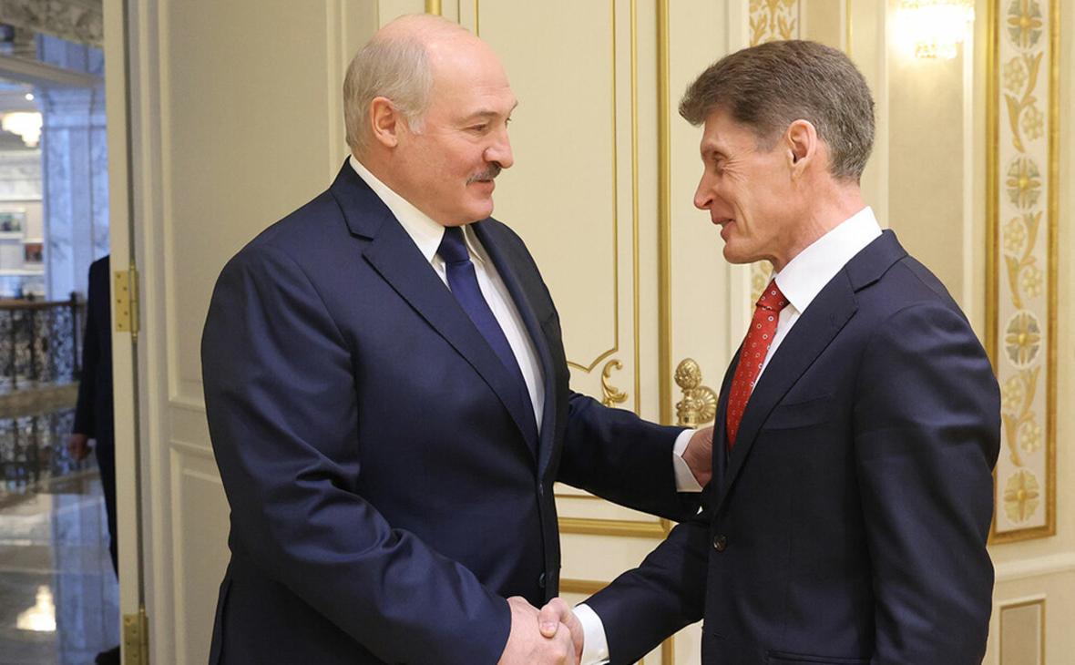 Лукашенко назвал Владивосток не чужим городом для белорусов