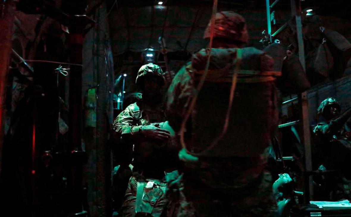 Американские десантники попали в больницы после высадки в Эстонии