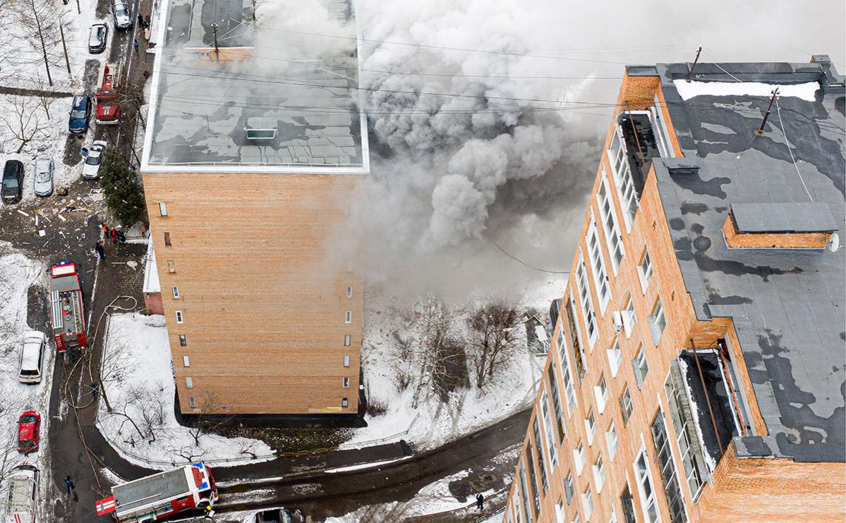 МЧС назвало возможную причину взрыва в жилом доме в Химках
