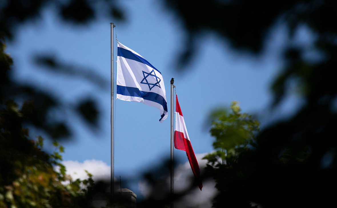 Эрдоган проклял Австрию за поднятие израильского флага