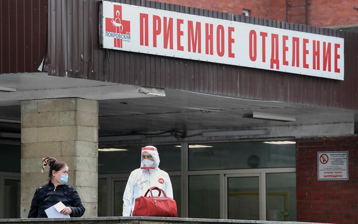 В России выявили максимум случаев заражения COVID-19 с марта