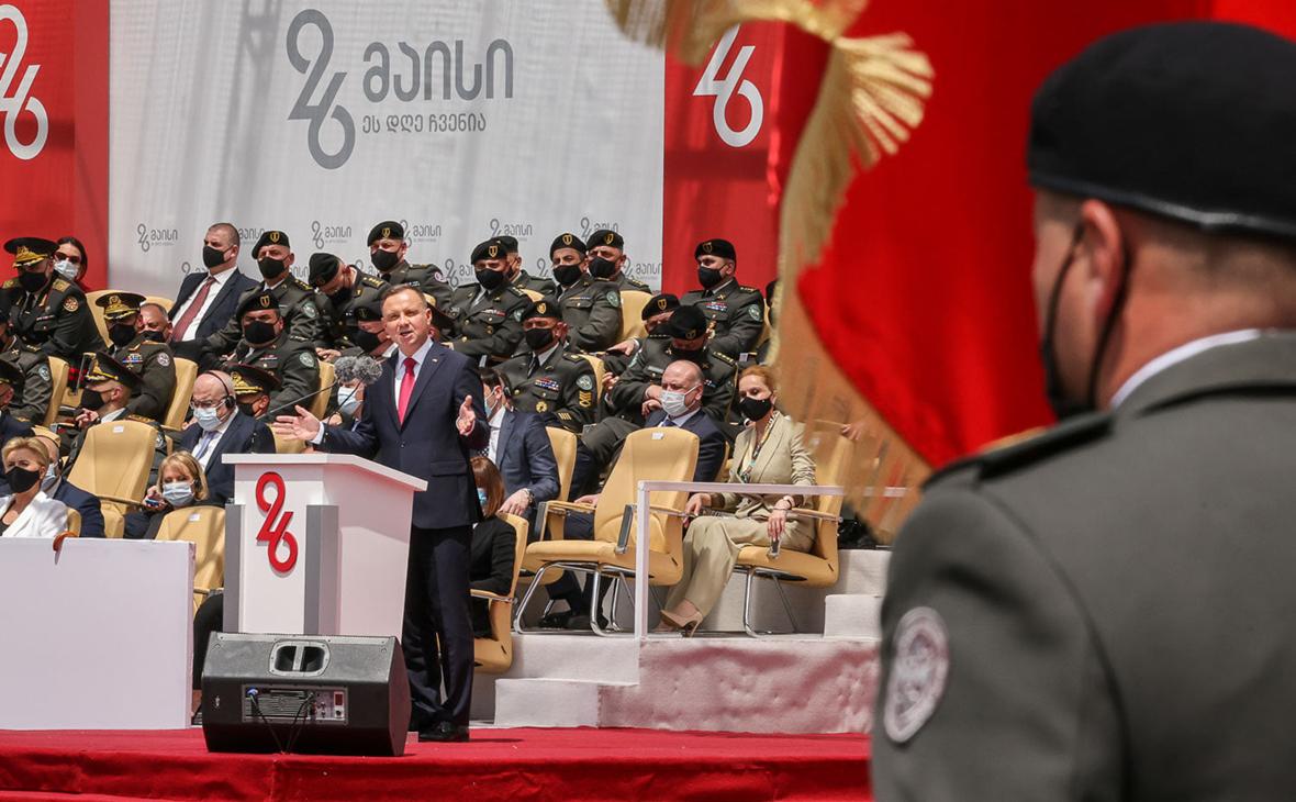 Президент Польши назвал Россию «ненормальной страной-агрессором»