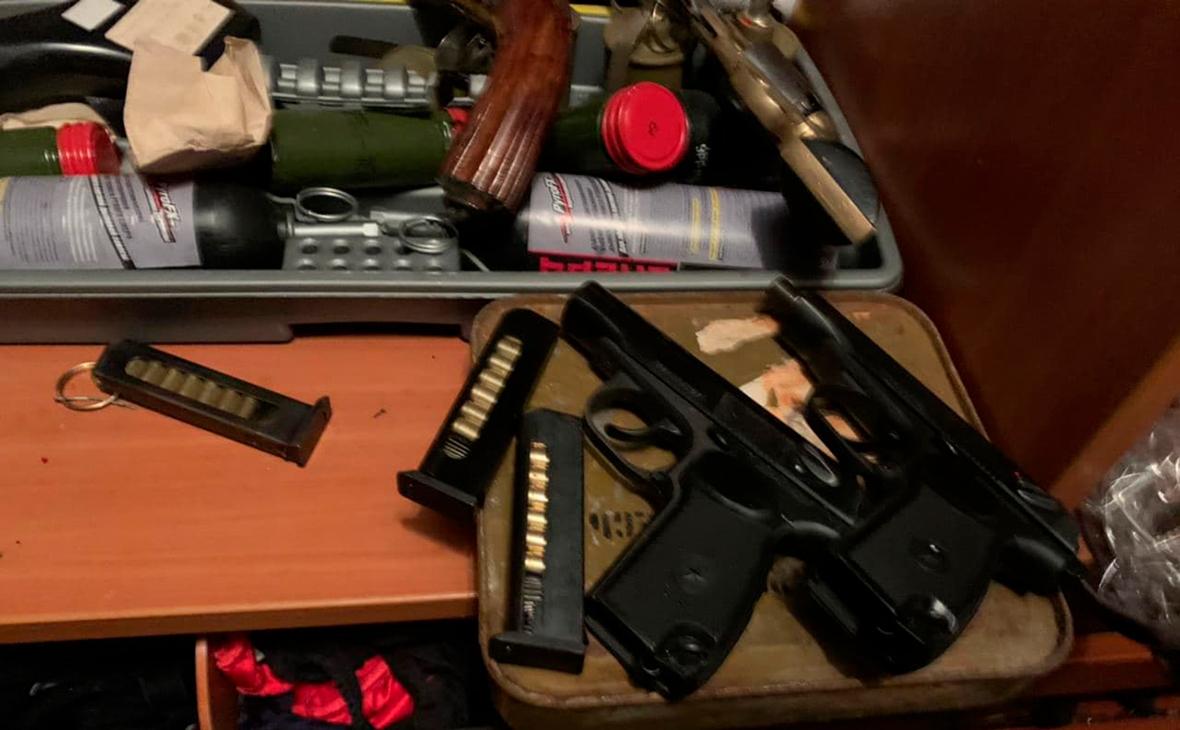 В полиции назвали марки оружия, которые были у мытищинского стрелка