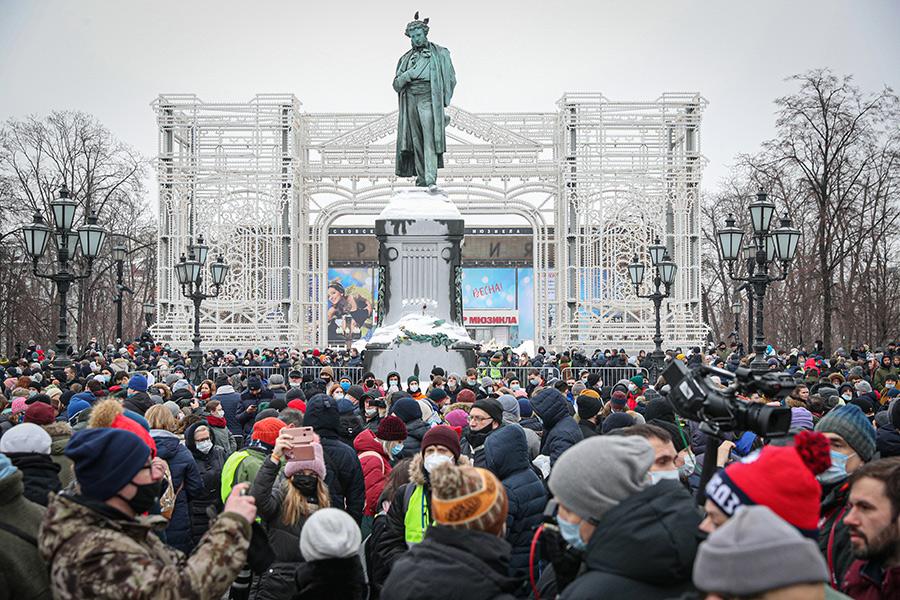 Фигуранту дела из-за митинга 23 января в Москве дали условный срок