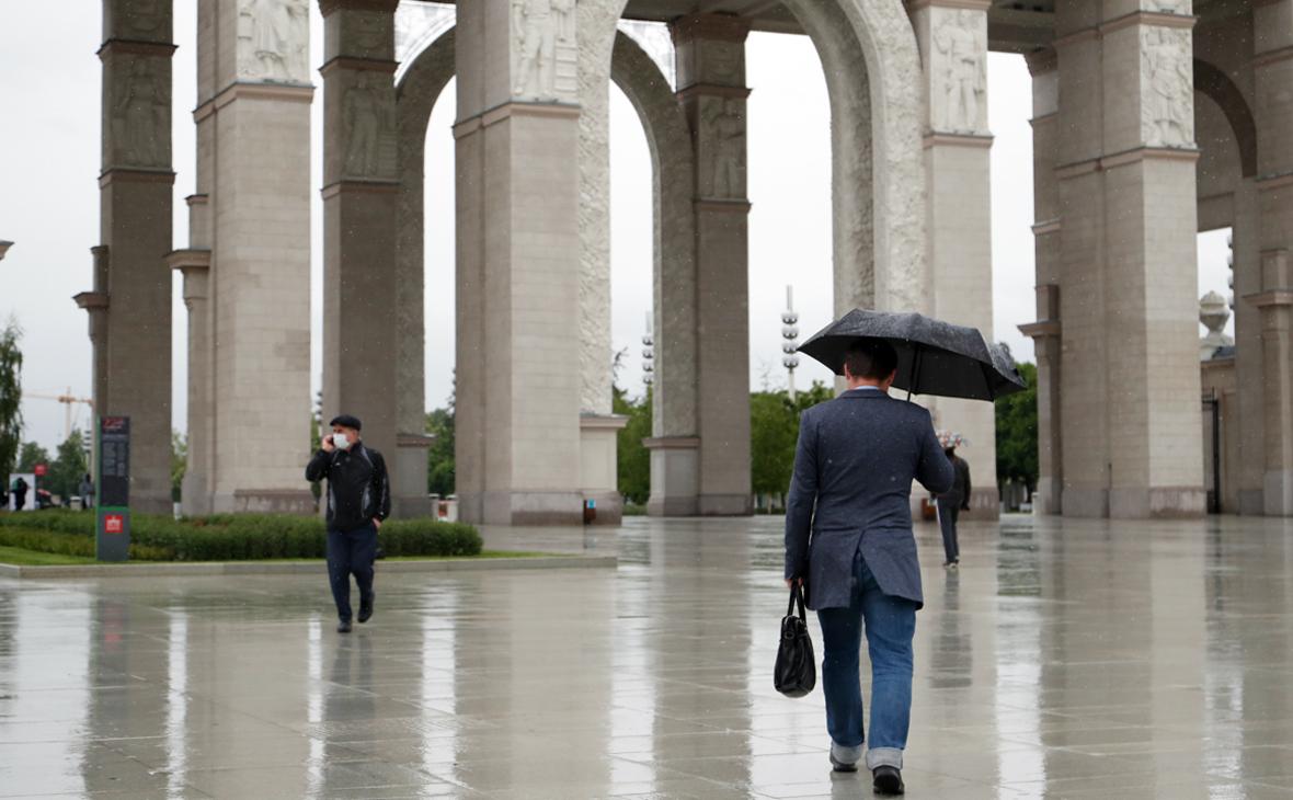 В МЧС предупредили москвичей о грозе и усилении ветра