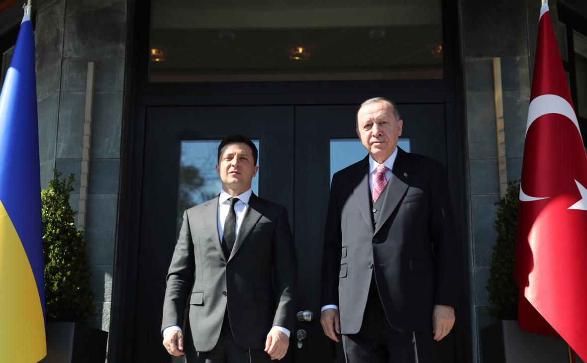 Эрдоган выступил за выполнение минских соглашений по Донбассу