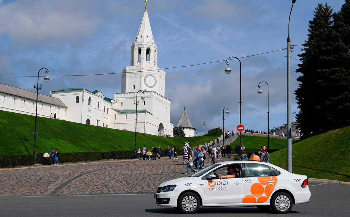 «Китайский Uber» решил запуститься в 100 российских городах