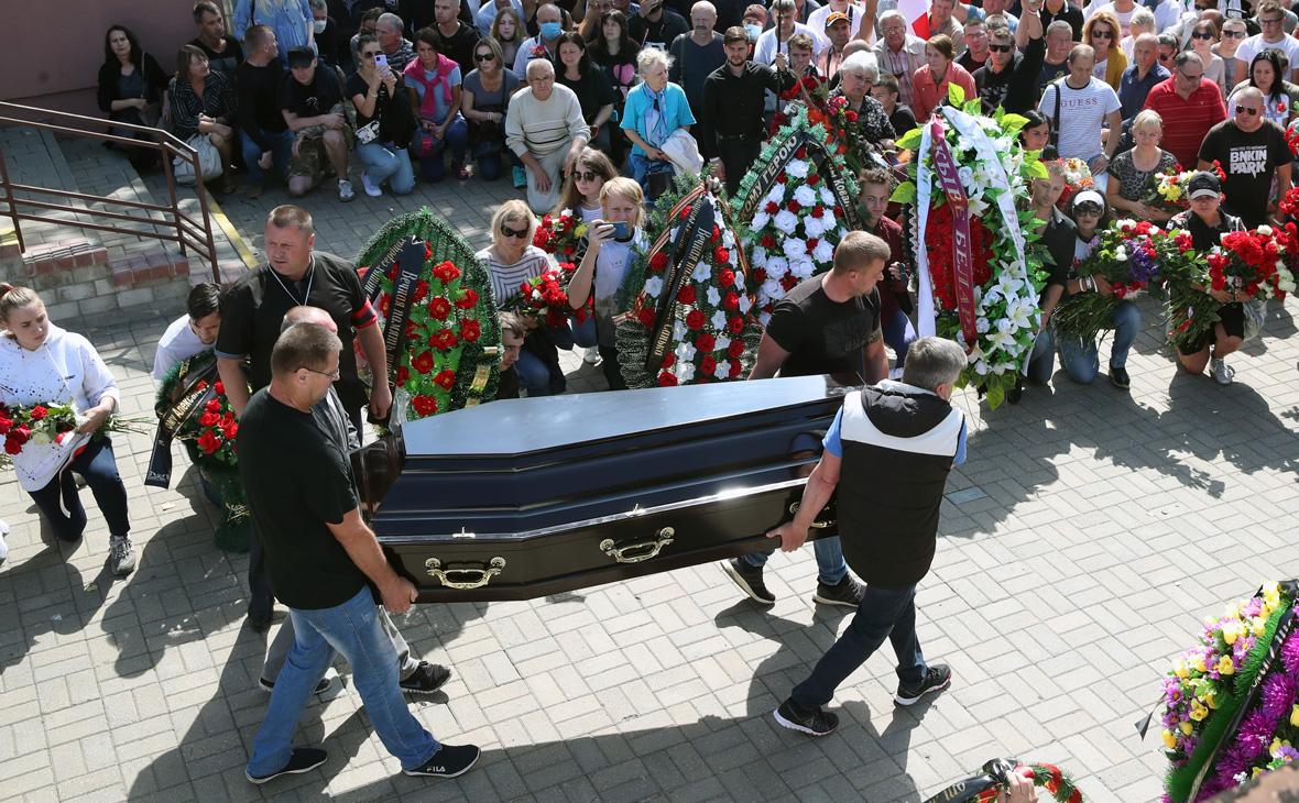 В Белоруссии отказались открыть дело из-за убитого полицией Тарайковского
