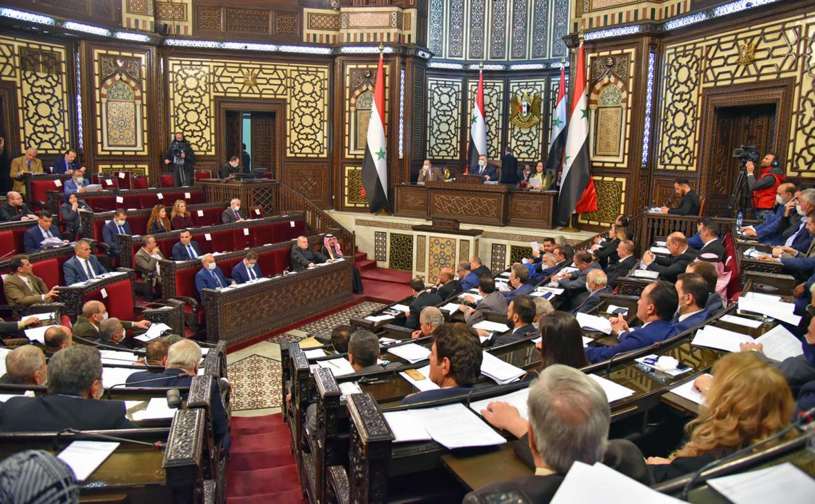 Парламент Сирии назначил дату президентских выборов
