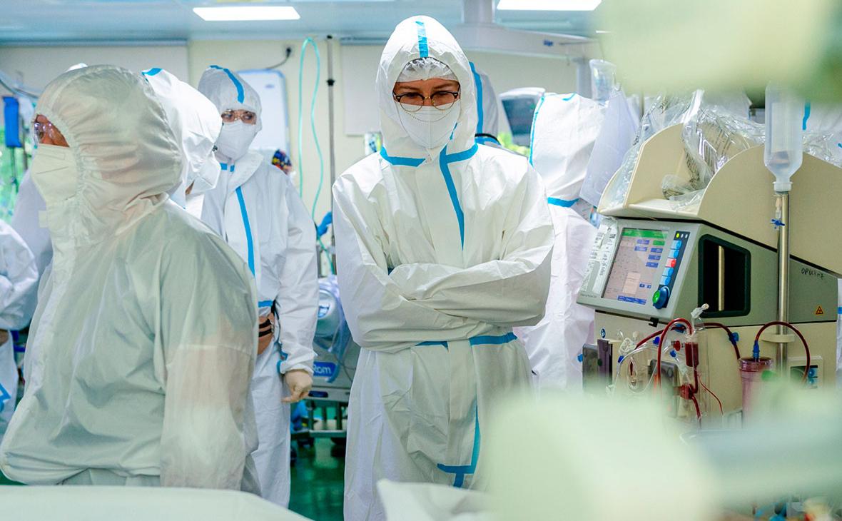 Голикова заявила, что заболеваемость COVID за пять дней выросла на треть