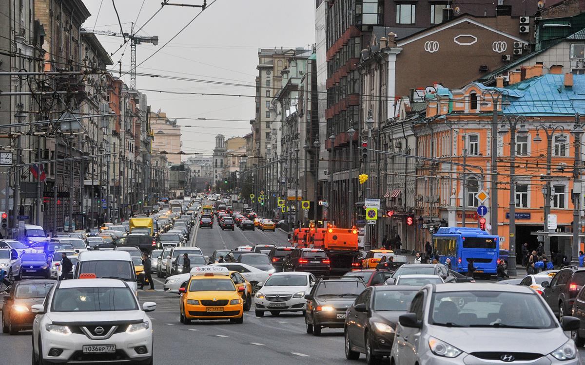 В Москве закроют на ремонт часть Тверской улицы