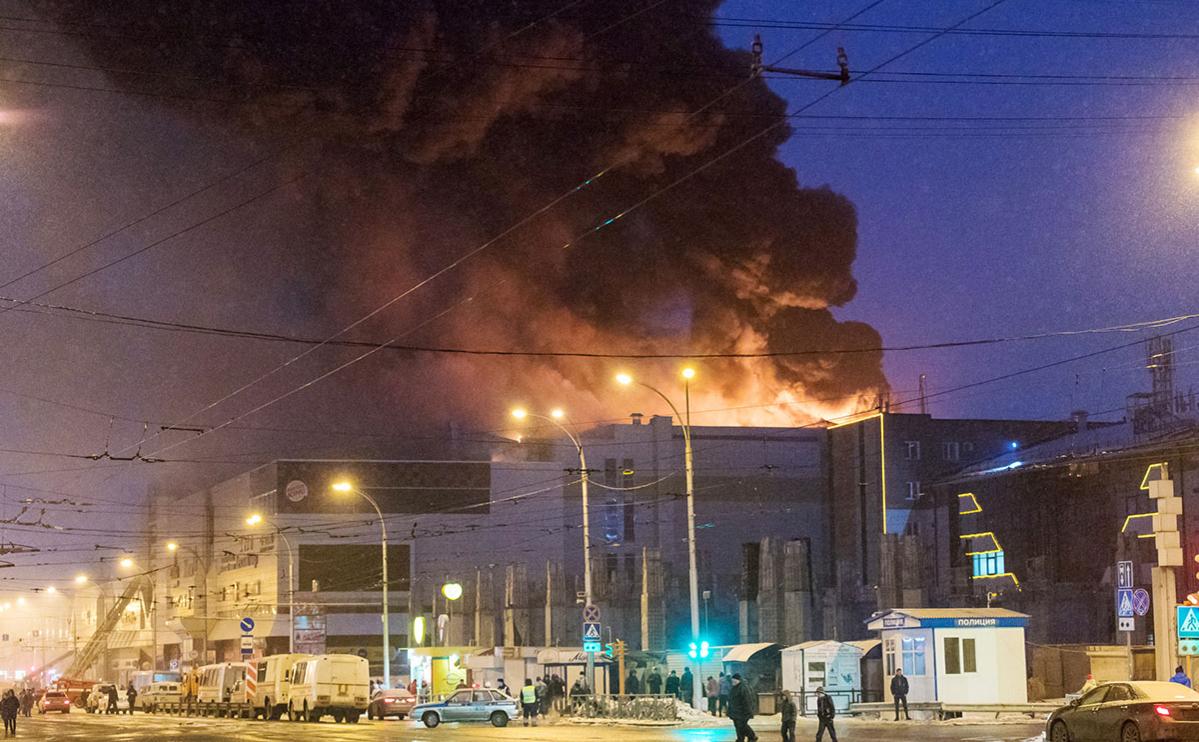 Аман Тулеев допустил поджог как причину пожара в «Зимней вишне»